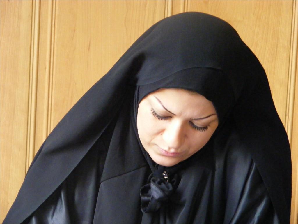 Femeie in chador (Iran)