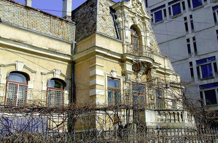 Casa din Iaşi unde a locuit gen. Berthelot între 1916-1917