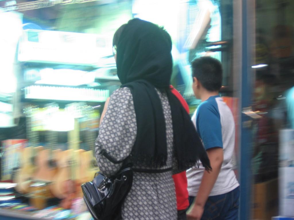 Moda islamica la Teheran