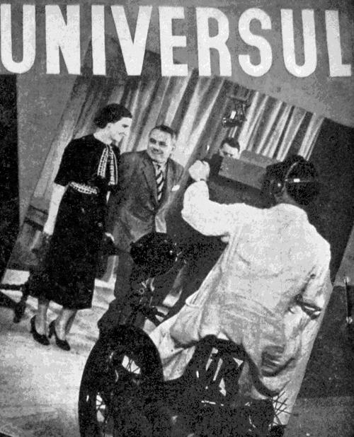 Foto: televiziunea în lume; coperta revistei Radio Universul din 18 decembrie 1937, Arhiva scrisă a SRR