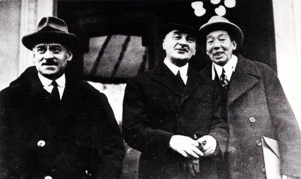 14 aprilie 1931, Bucureşti - I.G. Duca, Iuliu Maniu, Nicolae Titulescu