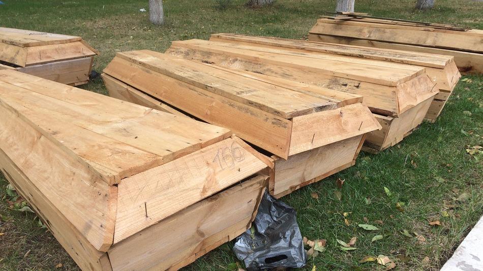 coffins-Luhansk