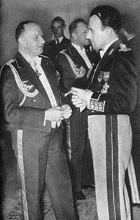 Generalul TITUS GÂRBEA şi generalul Alfred Gerstenberg