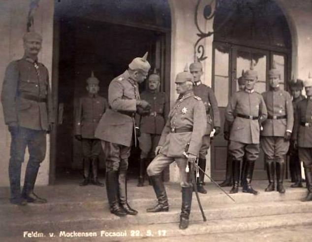 von Mackensen la Focsani