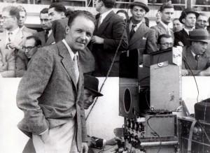 Ing. Paul Ştiubei, transmisie de la stadiolul ANEF, Revista Radio Universul, 1938; Arhiva scrisă a SRR