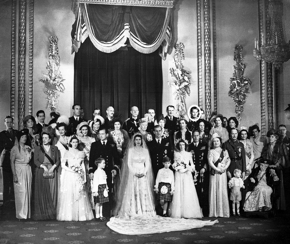 Regele Mihai I la casatoria Printesei Elisabeta a Marii Britanii. Sursa: www.michaelofromania.com