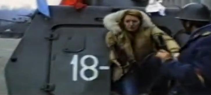 Arestarea lui Zoe Ceausescu