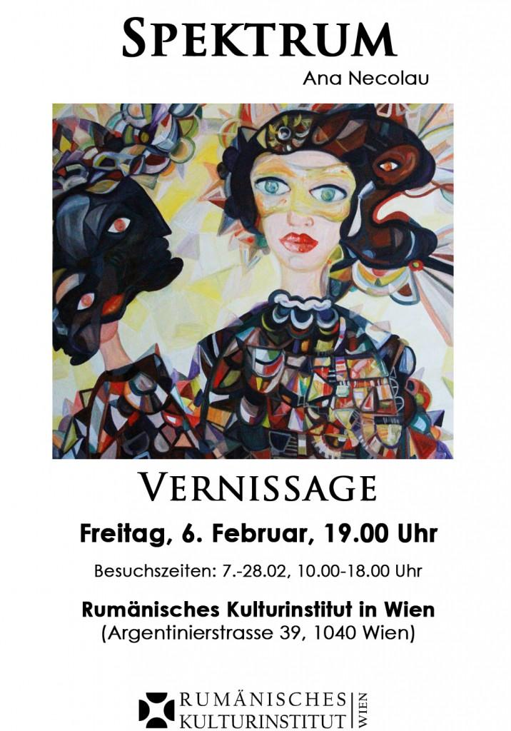 Afis - Expozitie Spectru - ICR Viena
