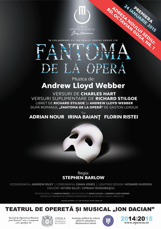 Afis Fantoma de la Opera