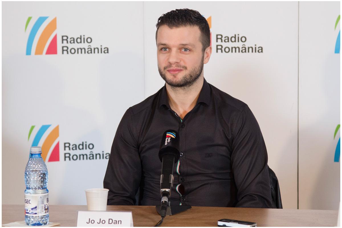 Jo Jo Dan la Radio Romania1 Foto Alexandru Dolea