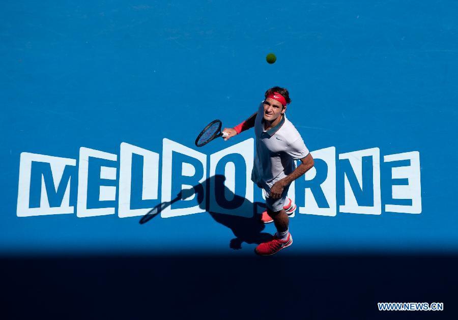 Roger Federer - Foto: www.news.cn