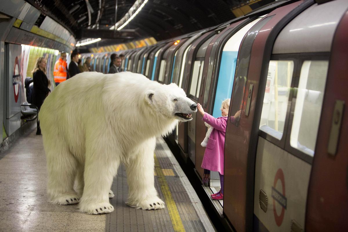 urs polar metrou londra