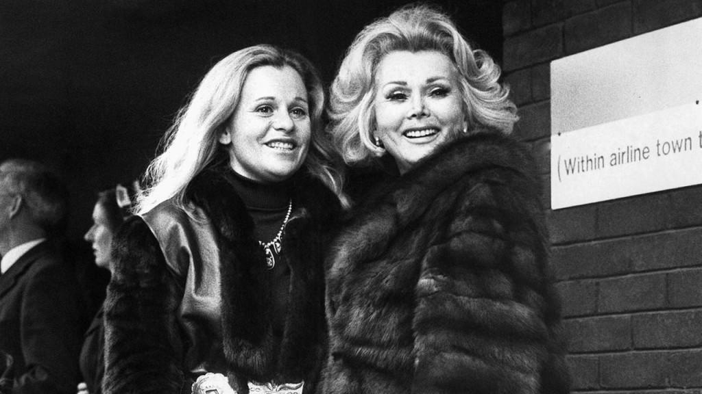 Cu fiica sa, Francesca, în 1973
