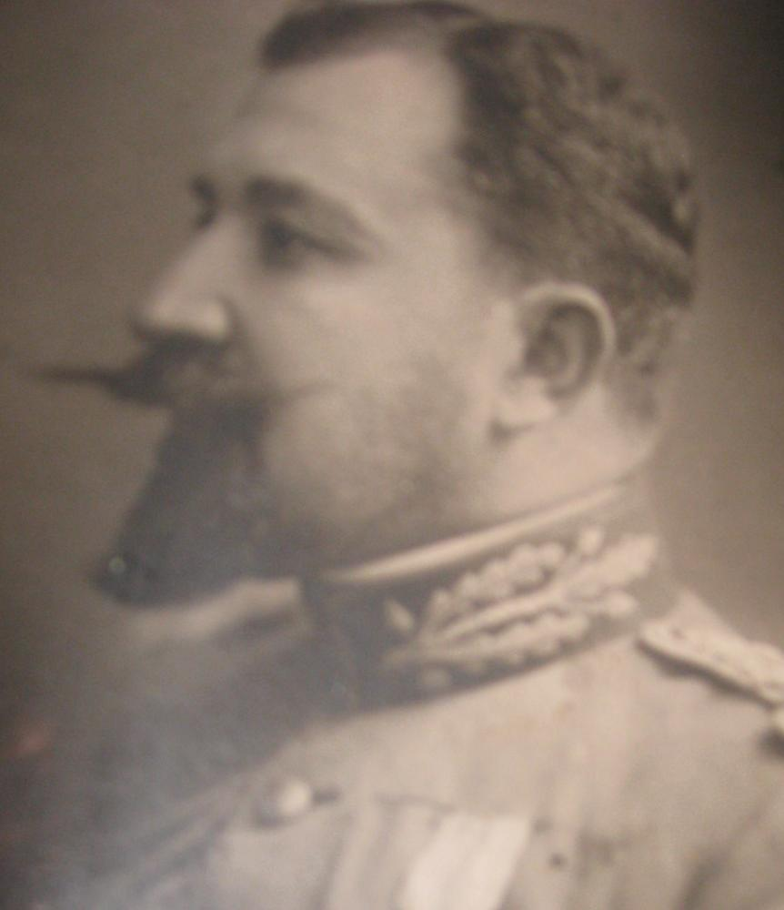 Gen. Grigore Berindei, tatăl Dinei; foto din colecṭia acad. Dan Berindei