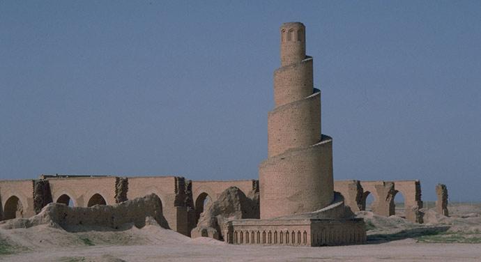 Marea Moschee din Samarra - sursa: www.judaism-islam.com