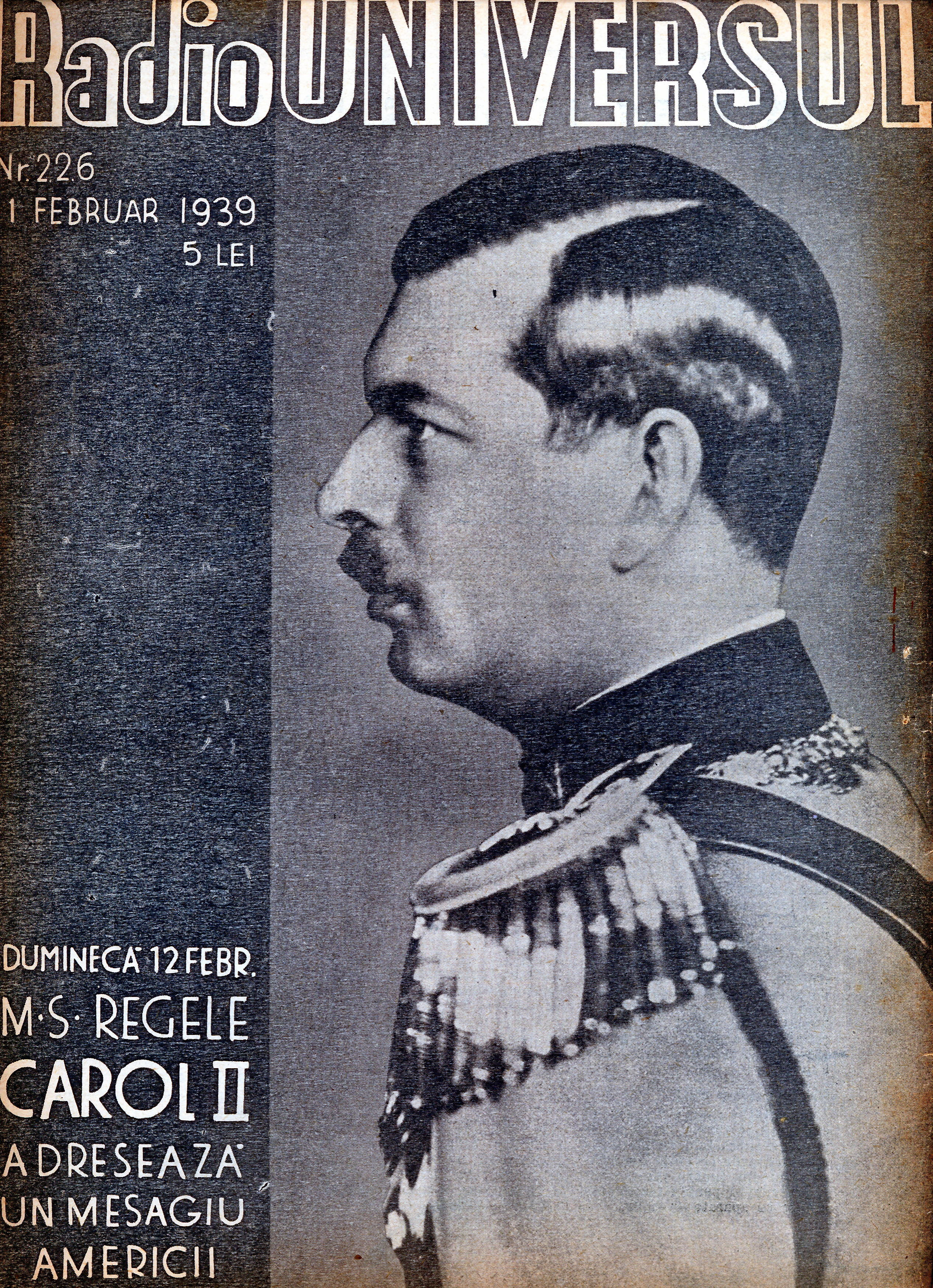 Revista Radio Universul, 1939, Arhiva scrisă a SRR