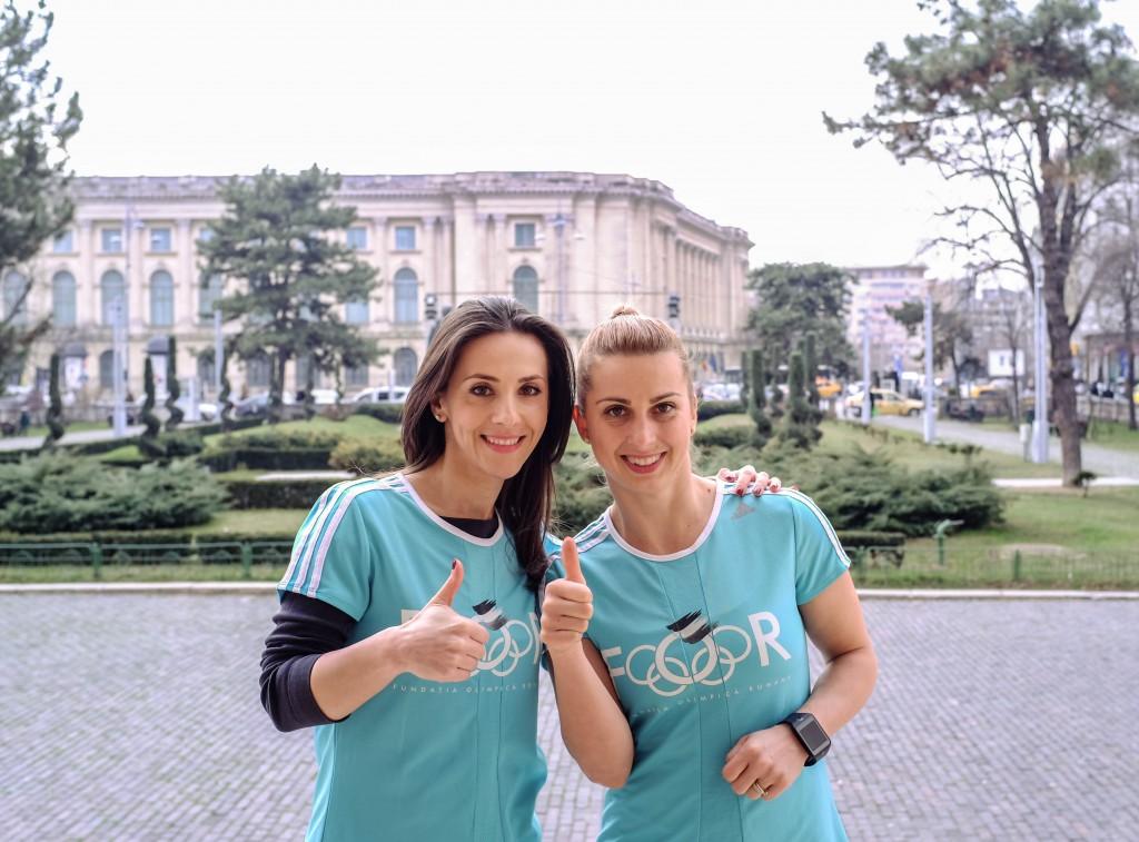 Andreea Raducan si Alina Dumitru