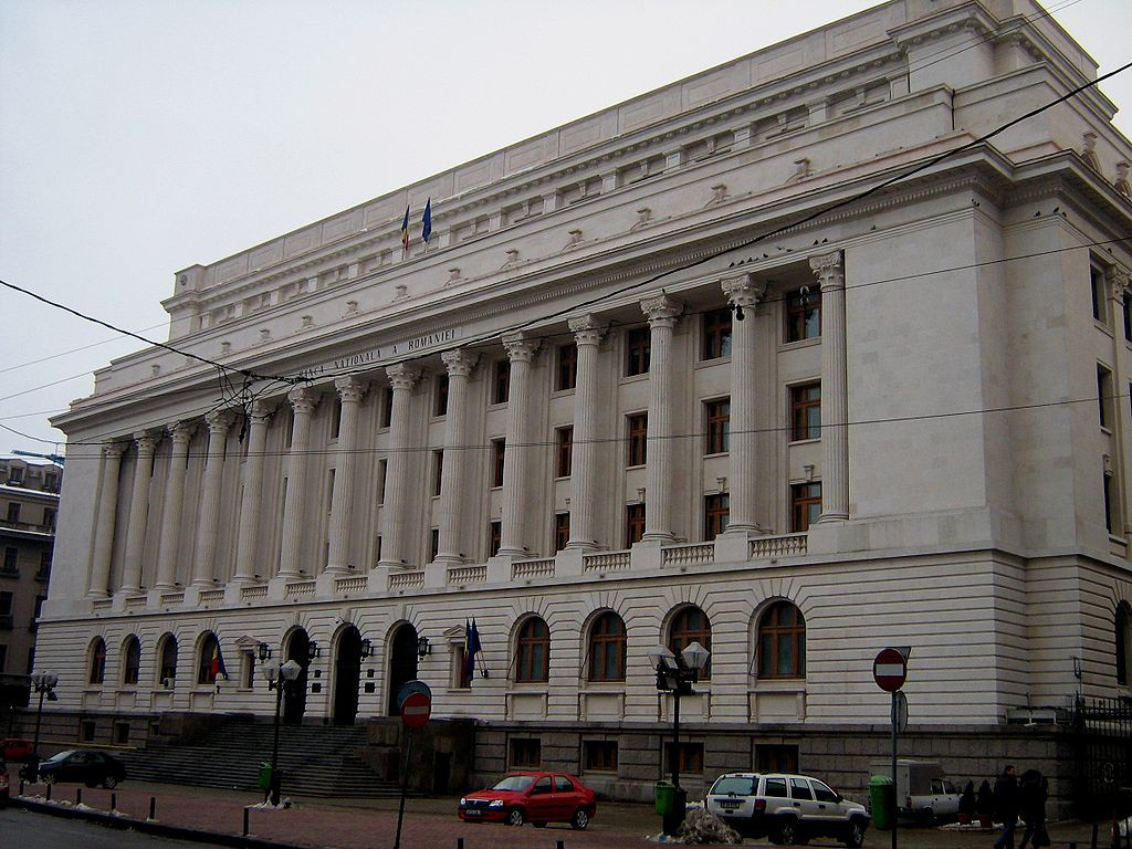 Banca Nationala a Romaniei - sursa: http://ro.wikipedia.org