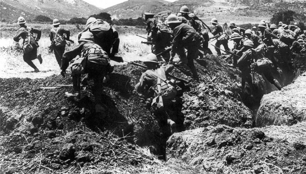Batalia de la Gallipoli - sursa: au.greekreporter.com