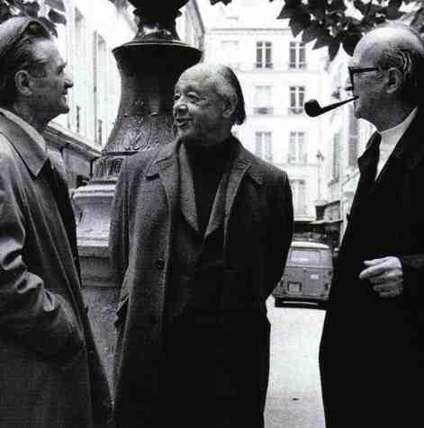 Cioran, Ionesco si Eliade