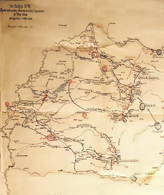 harta razboi 1919