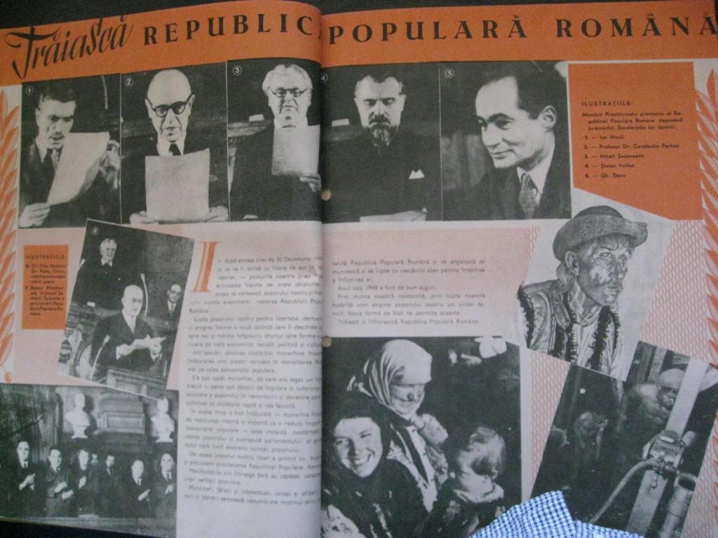 Revista Secolul Radiofoniei, apr. 1948, Arhiva scrisă a SRR