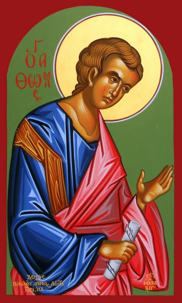 Sfantul apostol Toma - sursa: www.doxologia.ro