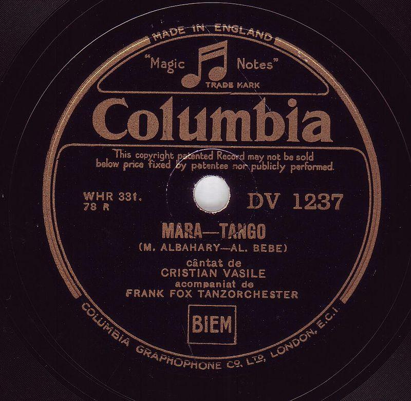 Disc Columbia, Viena 1933