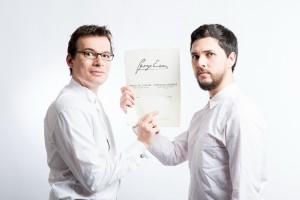 Alexandru Tomescu si Eduard Kunz (1)