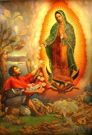 Sfânta Fecioară de la Guadalupe