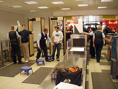 Flughafenkontrolle