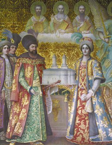 Voievodul Vasile Lupu şi familia