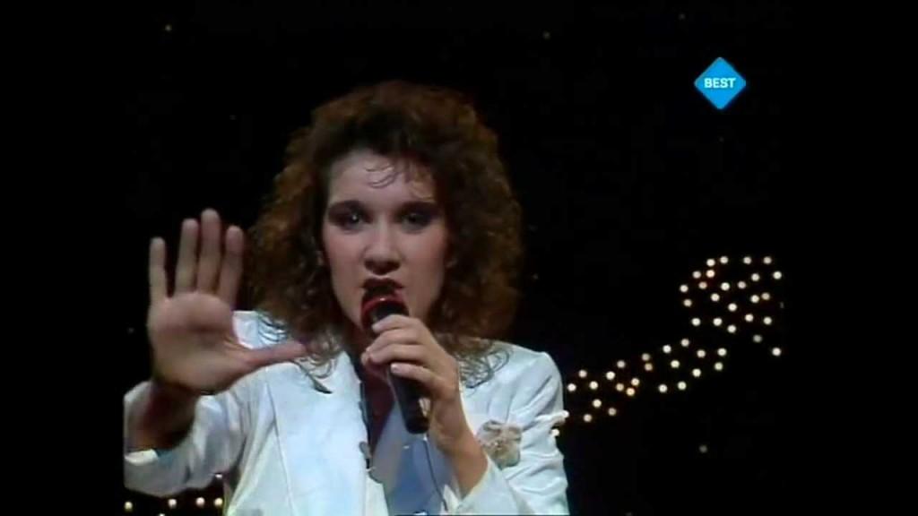 Celine Dion , reprezentand Elvetia in 1988