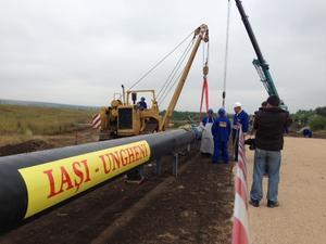 Proiectul de prelungire a gazoductului Iași-Ungheni a fost discutat de premierul interimar cu reprezentanții BERD