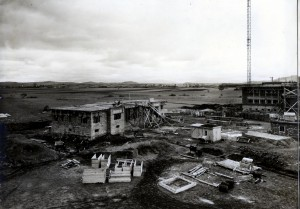 Radio Bod în construcṭie; sursa: Arhiva SRR