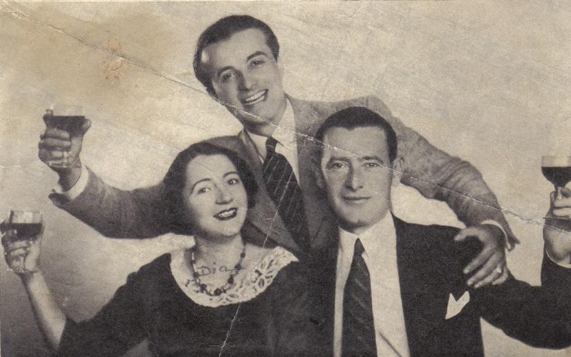 Cristian Vasile alături de compozitorul Ionel Fernic