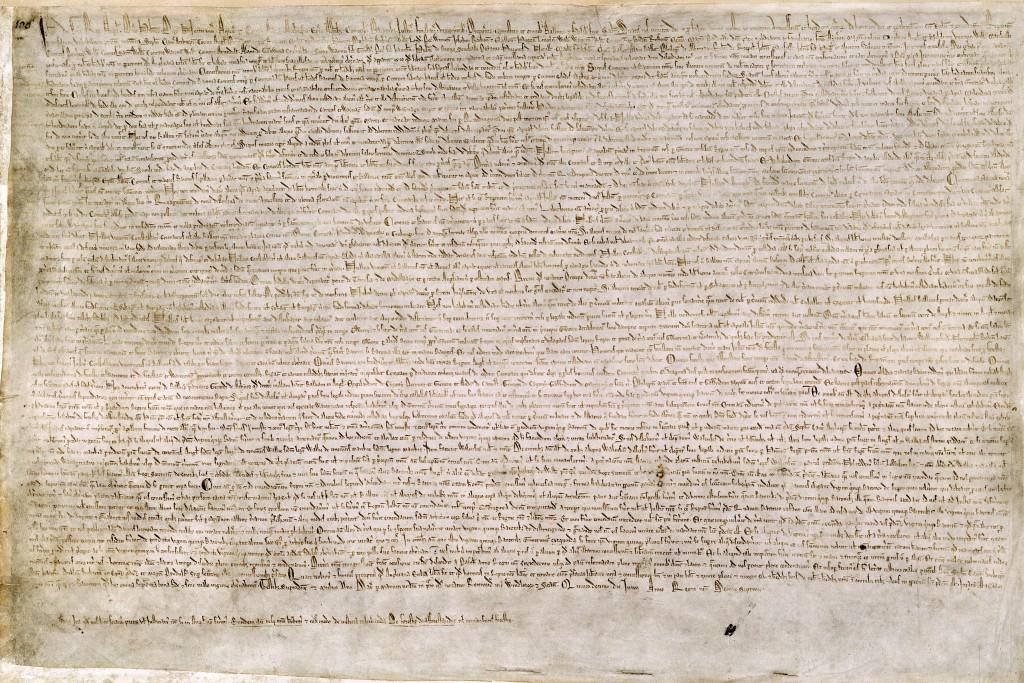 Magna Carta. British Library.