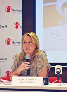 Salvati Copiii Romania_Gabriela Alexandrescu, Presedinte Executiv