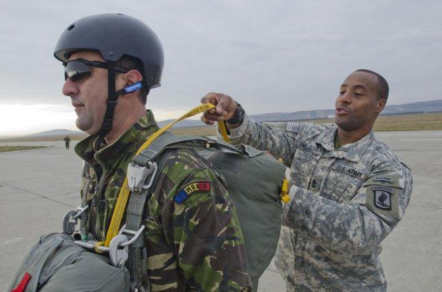 Exercitii militare comune romano-americane. Sursa: www.army.mil