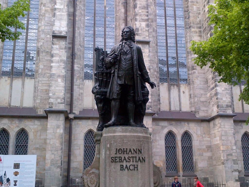 Biserica St. Thomas din Leipzig găzduieşte un muzeu dedicat compozitorului