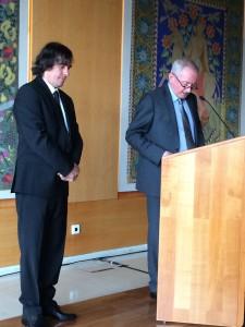 Mircea Cartarescu si Ernest Wichner