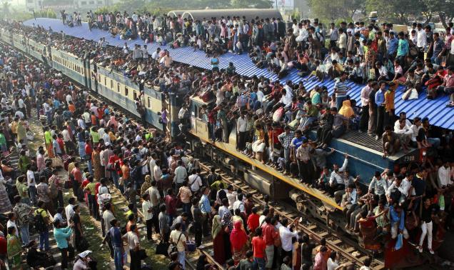 populatie in bangladesh