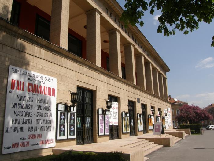 """Teatrul """"Sică Alexandrescu"""" din Braşov"""