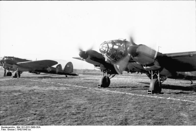 Heinkel 111 - sursa:  en.wikipedia.org