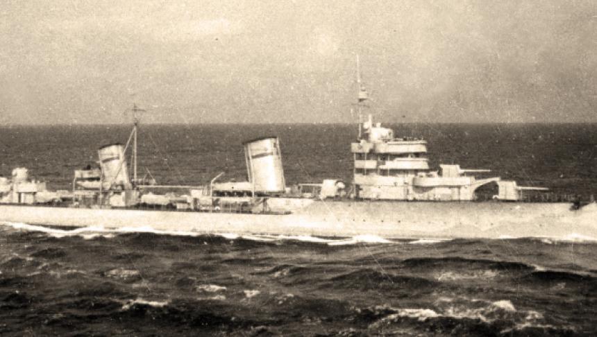 Distrugatorul Moskva - sursa: www.historia.ro