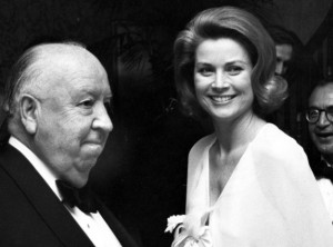 Alfred Hitchcock şi Grace Kelly