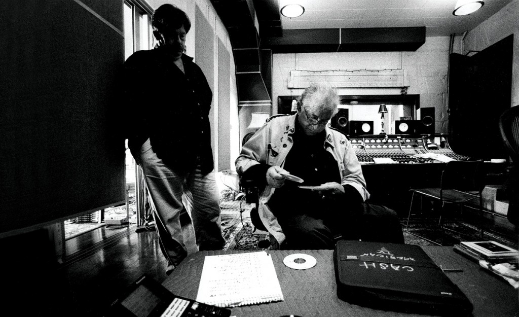 Johnny Cash at home recording 1