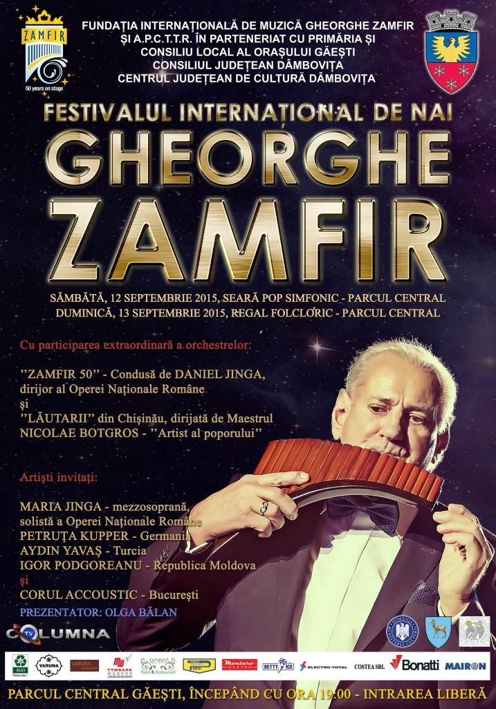 afis Festival Gheorghe Zamfir
