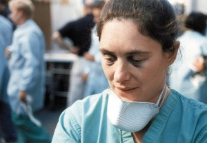 A photo of UT assistant professor Amy Z. Mundorff when she was working days after the Sept. 11, 2001 attacks. Mundorff, who teaches forensic anthropology at UT, survived the attacks on the World Trade Center while working for New York City's Office of Chief Medical Examiner.