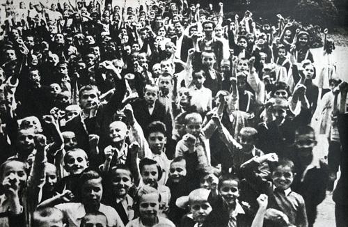 Copii greci evacuaṭi în România; http://www.revista-astra.ro